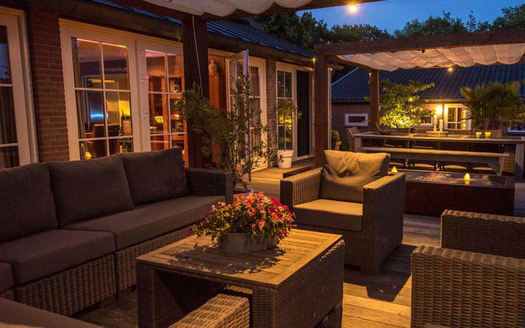 Inspiratie voor verlichting in uw tuin - De Groot Hoveniers