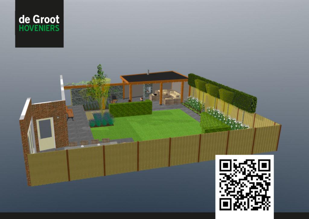 D tuinontwerp voorbeeld ontwerp d with tuin ontwerpen for Tuinontwerp app