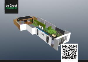 3d tuinontwerp voorbeeld