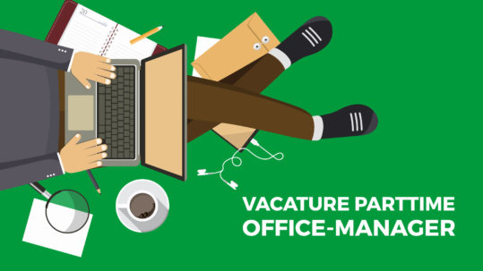 Vacature parttime office manager