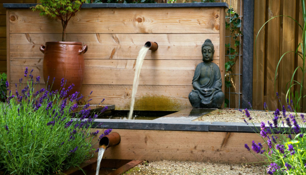 Water in de tuin de groot hoveniers
