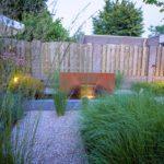 Verlichting waterlement tuinafscheiding schutting