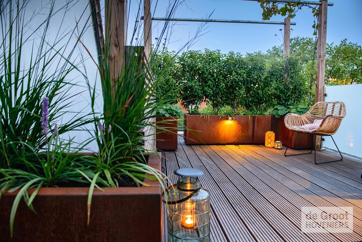 Elektra Aanleggen Tuin : Daktuin of dakterras aanleggen vrijblijvend advies bij de groot