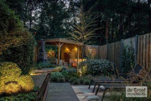 verlichting natuurlijke tuin