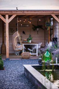 Vlonder tuin overkapping