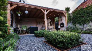 Overkapping tuin douglas