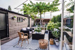 vintage tuin realisatie