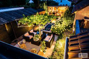 tuin terras verlichting