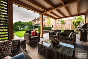 Lounge hoek tuin