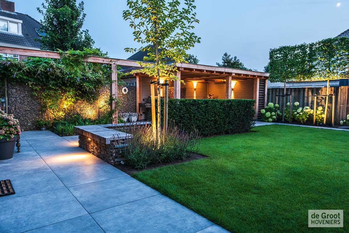 Moderne eigentijdse tuinen alle aangelegde moderne eigentijdse