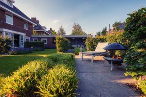 Moderne tuin aanleg